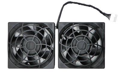 Contemplative New Genuine Hp Workstation Z620 Z820 Z840 Delta Dual Rear Fan Assy 644315-001 Fans, Heat Sinks & Cooling