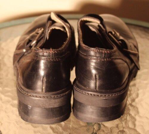Black Wayne Mens Robert Loafers Buckled 9 Slip On 5m xAfECUwq
