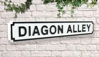 Wooden Sign Street Sign Diagon Alley Vintage Road Sign