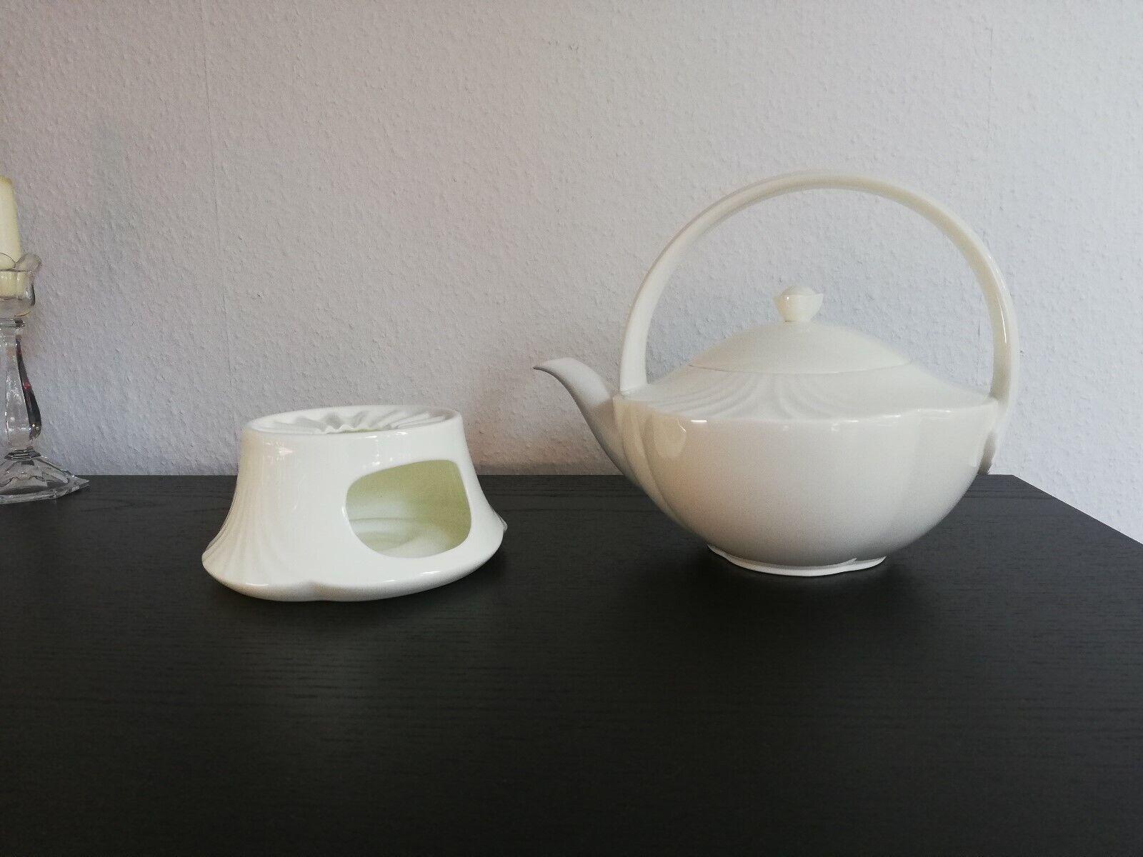 Villeroy&Boch Arco Weißs Teekanne mit Stövchen