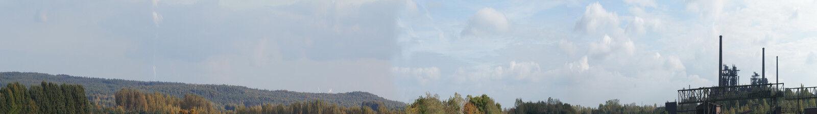 Modello ferroviario paesaggio sfondo 500 x 70 CM NUOVO