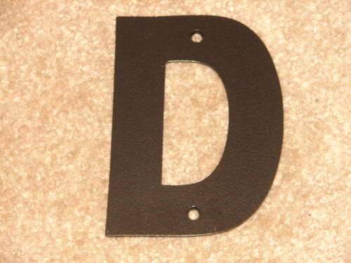 """LARGE6/"""" METAL ADDRESS LETTER HOME HOUSE WALL ALPHABET D"""