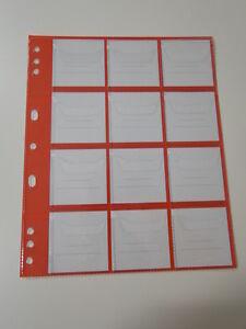 Dix Sachets RED12 Pour Pochette Collection Monnaies 19,4x Offre Monnaie