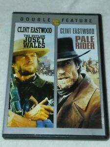 THE OUTLAW JOSEY WALES & PALE RIDER (2 DVD) Double Feature