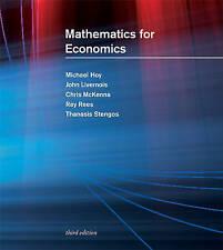 Mathematics for Economics, Stengos, Ray, Rees, Ray, Mckenna, Chris, Livernois, J