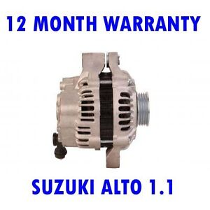 SUZUKI-ALTO-1-1-HATCHBACK-2004-2005-2006-2007-2008-ALTERNATOR