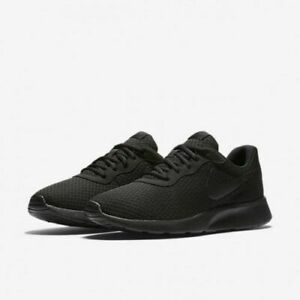 Image is loading Nike-Tanjun-Running-Shoes-Triple-Black-812654-001- d869ed3f0