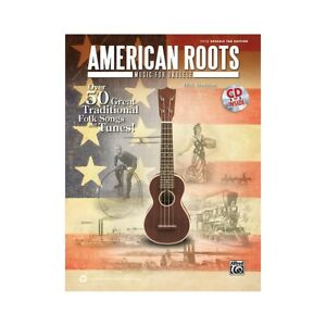 American Roots Music for Ukulele Book & CD