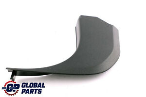 BMW X1 Series E84 Lateral Trim Panel Bottom Front Left N/S Black 2990757