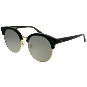 2f9f26b4fa8c8 Gentle Monster MoonCut 01(2M) Black Gold Plastic Sunglasses Gold ...