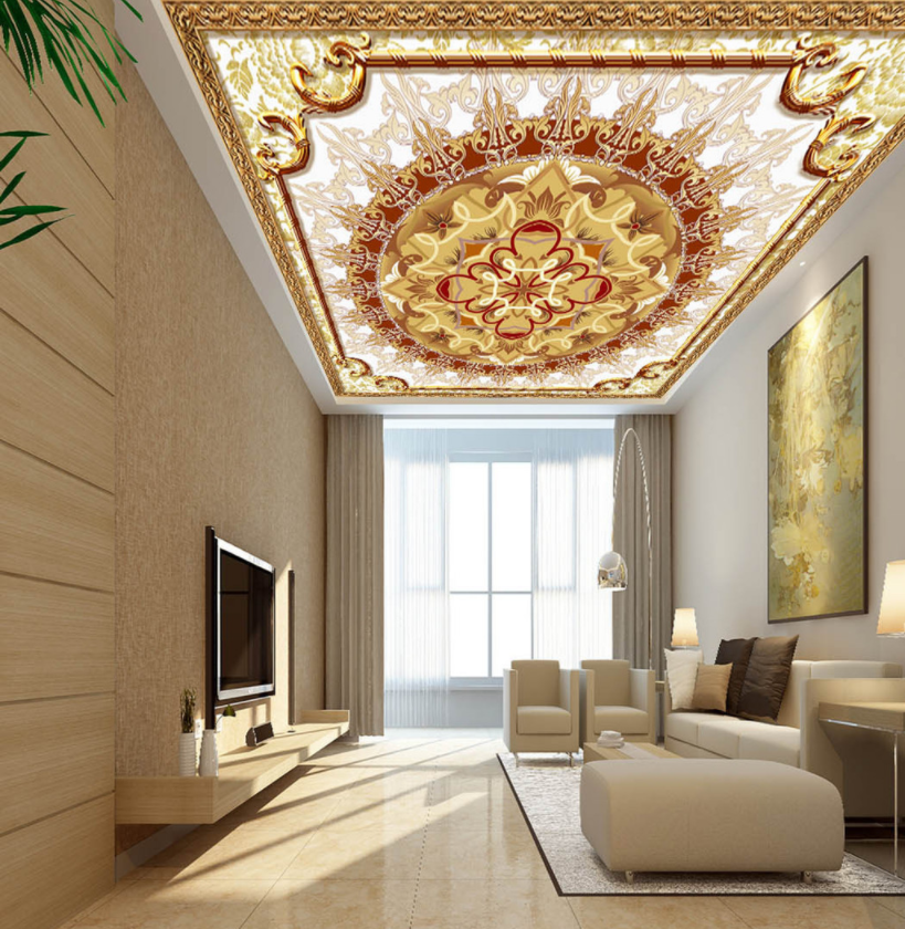 3D Flower Pattern 427 Ceiling Wall Paper Print Wall Indoor Wall Murals CA Carly