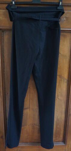Ann Demeulemeester..100% Virgin Wool Fold Over..Pa