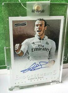 2016-17 Panini Aficionado Gareth Bale Autograph Auto Real Madrid /40 Tottenham