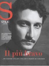 STILE - FEBBRAIO 2017 - IL GIORNALE - SUPPLEMENTO - MARCO DE VINCENZO