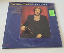 Kate Smith  - How Great Thou Art - LP vinyl record album plastic still on cover