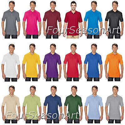 Gildan 82800 Polo Shirt  Premium Cotton Double Pique Sport Shirt