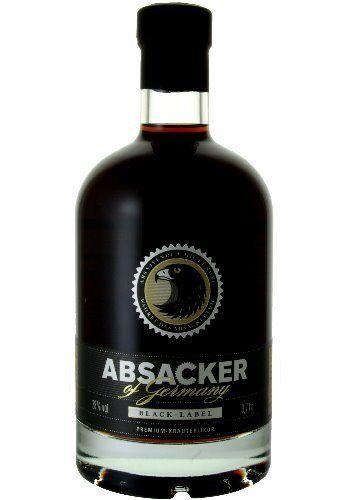 Absacker of Germany - Black Label - Premium Kräuterlikör Wahret das Absackertum