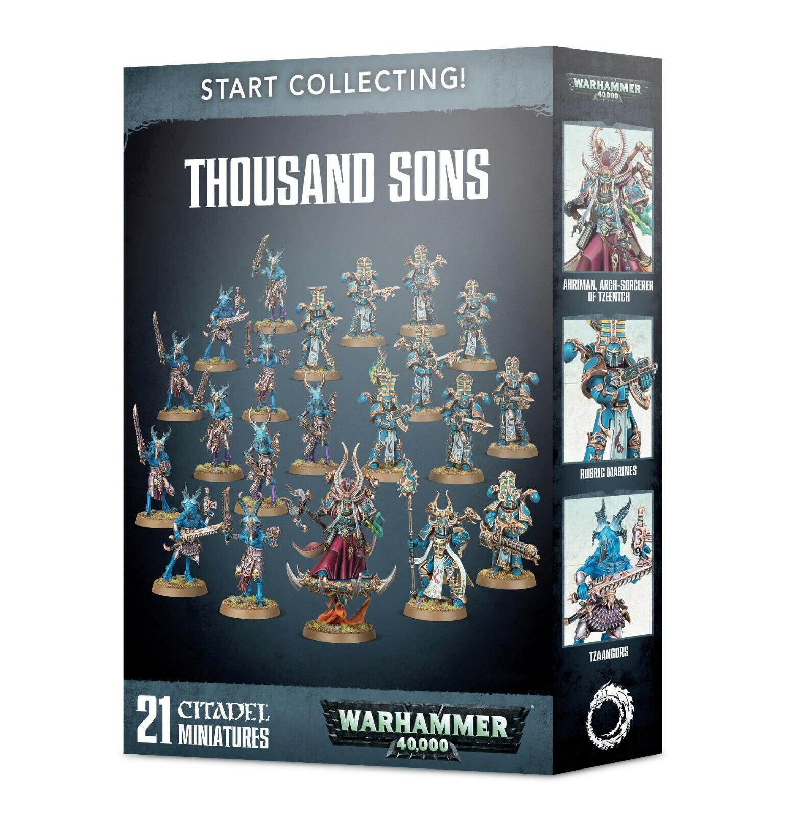 Warhammer  40K Thousand Sons Start Collecting plastic nouveau  grande remise
