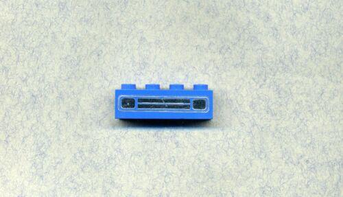 Car Lights LEGO BLEU//ARGENT --- autolichter Imprimé 3010 --- 1 x 4