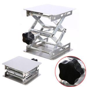 Aluminum-Oxide-Lab-Stand-Scissor-Lift-Lifting-Platform-Laboratory-Jack-Table