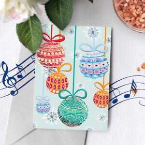 120s christmas card recordable christmas musical greeting card image is loading 120s christmas card recordable christmas musical greeting card m4hsunfo