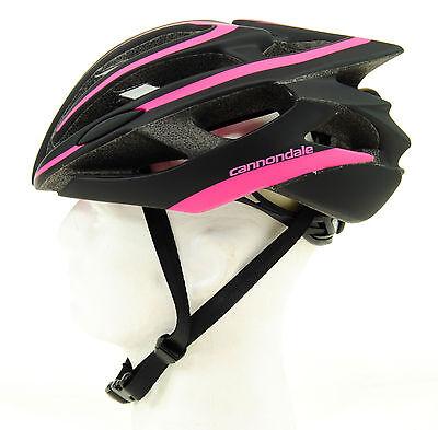 Black//Pink Cannondale Teramo Bicycle Helmet 52-58cm Small//Medium