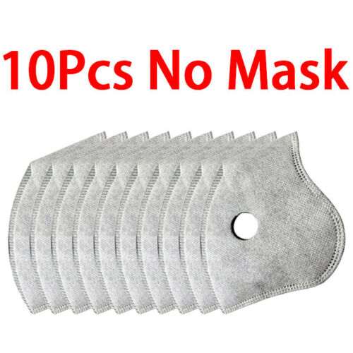 20//50pcs Pm2.5 Replaceable Protection Filter Activated Carbon Filter US