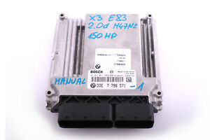 BMW-X3-Series-E83-2-0d-M47N2-Diesel-ECU-DDE-Engine-Control-Unit-7796571