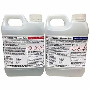 Polycraft-FC6666-Badge-Doming-Water-Clear-Polyurethane-Casting-Resin-2kg-Kit