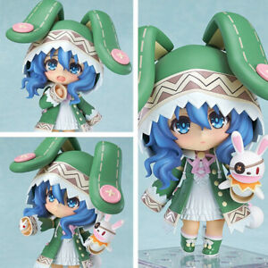 Nendoroid-395-Anime-Date-A-Live-Yoshino-Hermit-PVC-4-034-10cm-PVC-Figure-Toy-in-Box