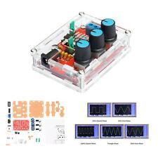Function Signal Generator DIY Kit Generating Sine/Triangle/Square Wave US T3I6