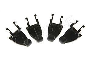 Genuine-Vw-Passat-Variant-B6-Vagon-Sombrilla-Ganchos-Negro-4-Pcs-3C9861337-1QB