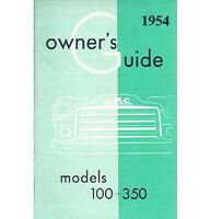 1954 Gmc Truck Owner's Manual