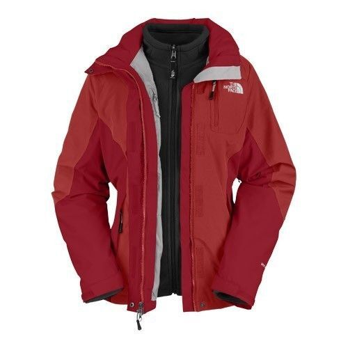 North Face mujer Atlas triclimate chaqueta, grupo.xs