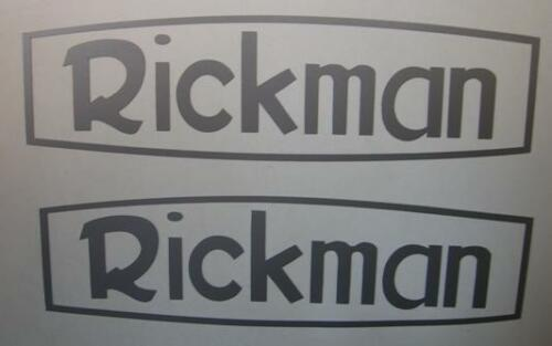 Rickman sticker pair tank panel vinyl cutout