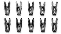 Joy Mangano Huggable Hanger Finger Clips - Pack Of 10 - See Colors Available
