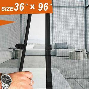 Image Is Loading Magnetic Screen Door 36 X 96 Mosquito Patio