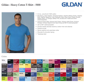 100-Gildan-T-SHIRTS-BLANK-BULK-LOTS-Colors-or-100-White-Plain-S-XL-Wholesale-50