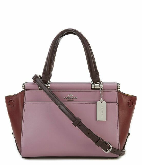 1d3dc801ab409 Coach Grace 20 Colorblock Leather Satchel Crossbody 31919 for sale online