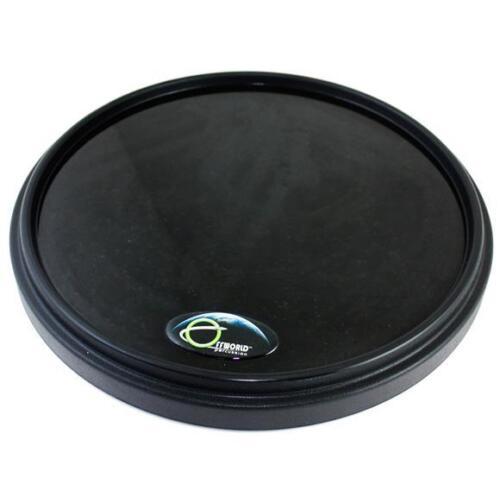 "Offworld Percussion 13.5/"" V3 Invader Drum Practice Pad w// Black Rim"