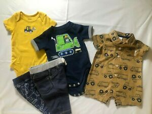 Baby Boy Clothing Lot Size 0 3 Months Gently Used Ebay