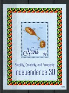 Nevis-2013-MNH-Independence-30th-Anniv-1v-S-S-Islands-Maps-Stamps