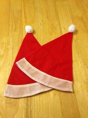 2 X Natale Costume Babbo Natale Cappello-misura Bambino-mostra Il Titolo Originale