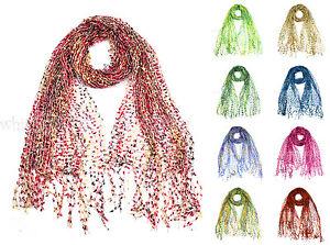 66-034-Wide-Crochet-Confetti-Spring-Summer-Scarf-Knit-Multi-Color-Fringe-Fashion