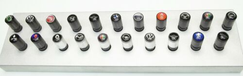 Renault Ventilkappen Reifenventilkappen in schwarz