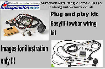 BMW E46 MODELS DEDICATED PLUG & PLAY 7 PIN TOWBAR WIRING KIT 12N EASY TO FIT