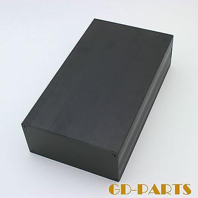245x145x70mm Full Aluminum Chassis Enclosure Case for HIFI Audio AMP DIY Blackx1