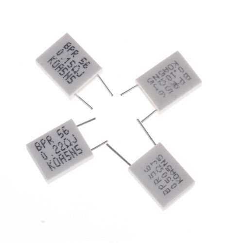 10pcs 5W 5/% 0.1//0.15//0.22//0.5 Ohm Cement Resistor Non-Inductive Resistor *SP