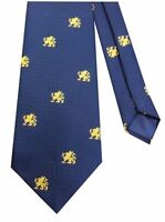 RAF Police Royal Air Force Police Cap Badge Motif Regimental Military Tie