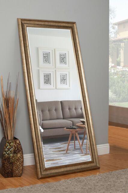Leaner Floor Mirror Black Full Length